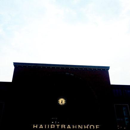 Ankunft in Kiel, Hauptbahnhof