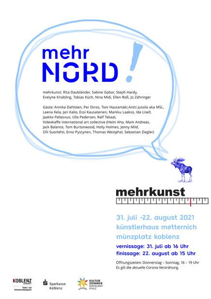 mehrnord! Eine Ausstellung des Künstlervereins mehrkunst, Koblenz 2021