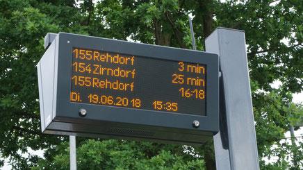 LED-Anzeiger im Kompaktformat im Landkreis Fürth