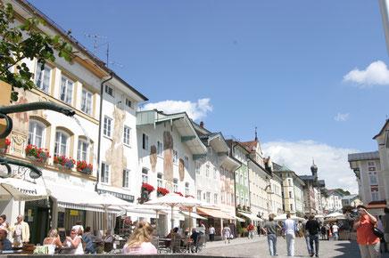 Die Innenstadt von Bad Tölz