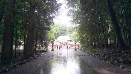 神社の入り口の写真