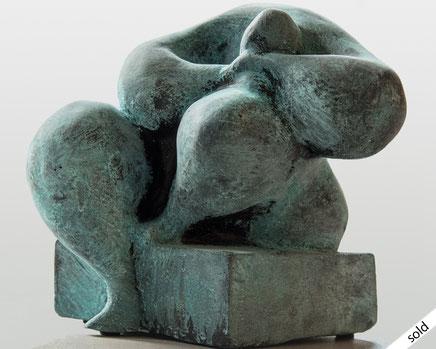 Hans Tilburg Moderne Plastik aus Stein