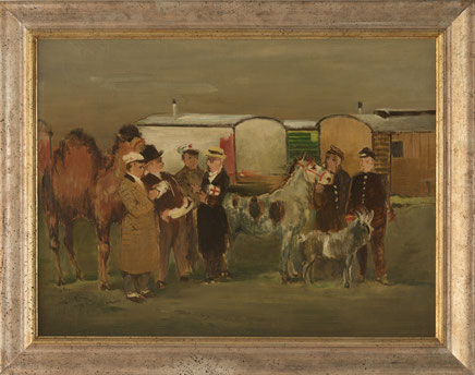 Maler Franz Stock Tierhändler Galerie Bonn