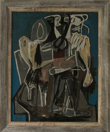 Jean Darna abstrakte Malerei