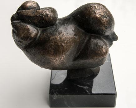 Bronze Frauenskulptur