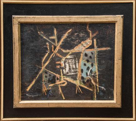 Abstraktes Gemälde Suzanne Thienpont