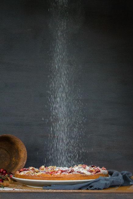 Foodfotografie, Rezept für einfachen Apfelkuchen