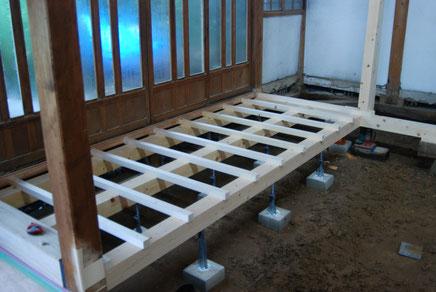 床材の土台