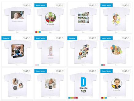 individuelle T-Shirts selber drucken