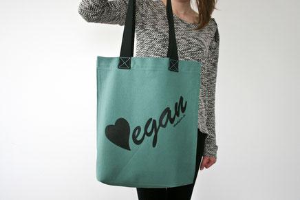 vegan tote bag, vegan bag