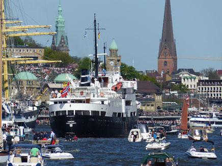 Landungsbrücken, Hafen Hamburg