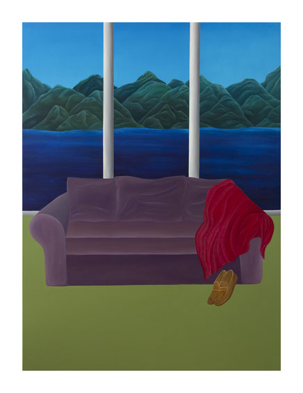 Your Remains #3, 2019, Oil on canvas, 130 x 97 cm ©Photo Maurine Tric Private collection