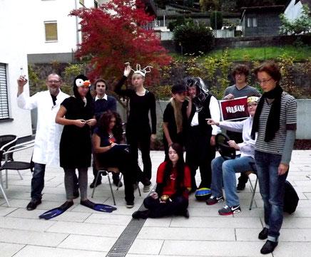 Psychiatrie ist ein Spaß Habba verrückt AWO Weinheim Premiere Uraufführung 2013