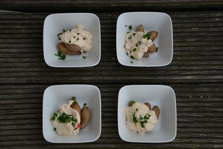 Mini-Kartoffeln mit Kräuterquark