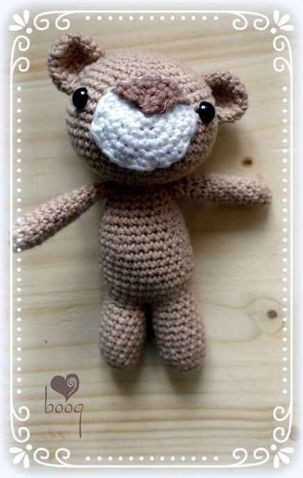 boogID amigurumi häkeln crochet bear teddy