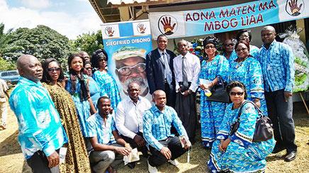 Le DGA Charles Michaux MOUKOKO NJOH conduisait la délégation du PAD aux obsèques
