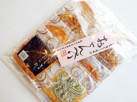敷嶋あられ嵯峨乃家本店 おせんべい 草加煎餅ミックス