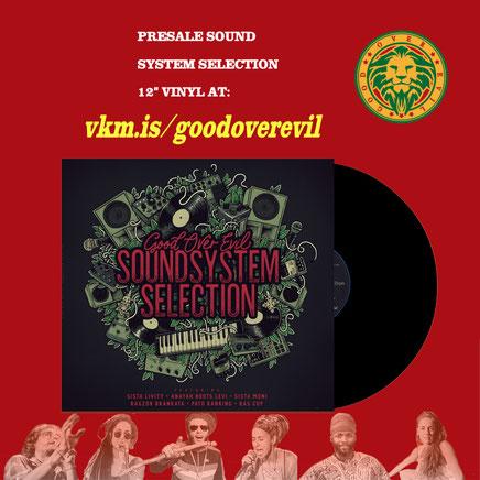 Sound System Selection reggae vinilo