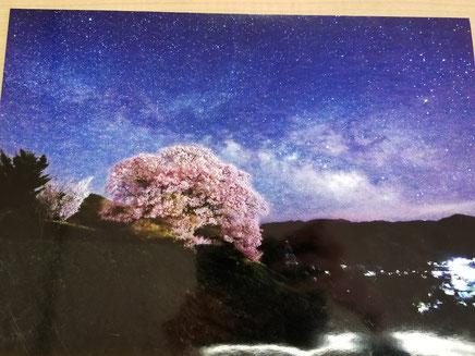 特選 下川 一仁さん 桜景天の川