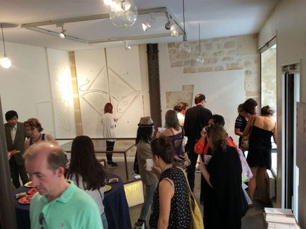 パリデザインウィーク2015のスタートはベルニサージュから