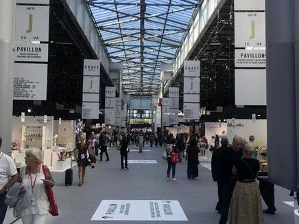 パリ郊外のノールヴィルパントで開催のメゾンエオブジェ2018