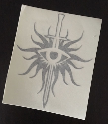 Dragon Age: Inquisition Decal von RizasWorkshop