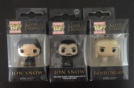 1 von 3 Funko PocketPOP! zu Game of Thrones: Jon Snow oder Daenerys Targaryen