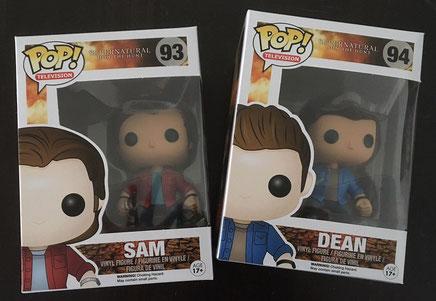 1 von 2 FunkoPOP! Supernatural: Dean oder Sam
