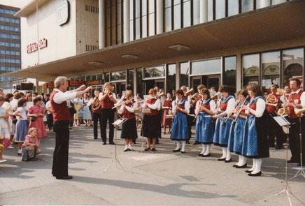 Ausflug nach Würzburg 1986