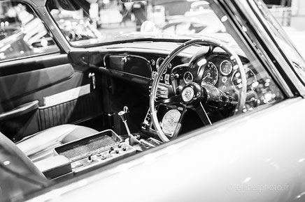 rétromobile 2017, automobile, auto ancienne, auto vintage, salon de la voiture ancienne, paris, portes de versailles, aston martin, james bond, rachel jabot ferreiro, erjihef photo