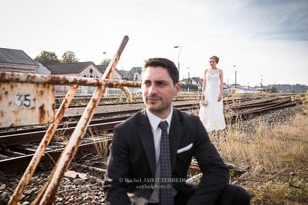 mariage, mariage deux sévres, rail, voie ferrée, photographe mariage, photographe mariage deux sévres, wedding, wedding photographer, rachel jabot ferreiro, erjihef photo