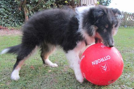 Anni of Atocha - auch sie liebt ihren Fußball.