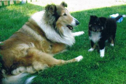 O`Connor of Atocha mit seiner Tante Belle.
