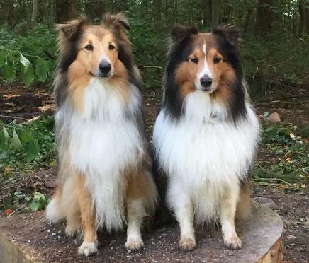 Omina (Leni) und Nigel of Atocha (Emil) - Freunde für immer.