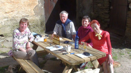 Détente : Allemands(bières)+fleuriste (Meuse)