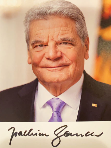 Autograph Joachim Gauck Autogramm