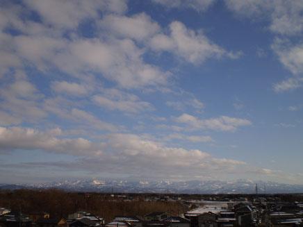 新潟県民発の冬季五輪メダリストの誕生。今日の新潟は爽やかな一日となりました