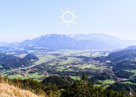 Sommer in Oberaudorf