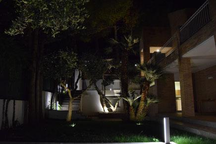 Esterno villa residenziale