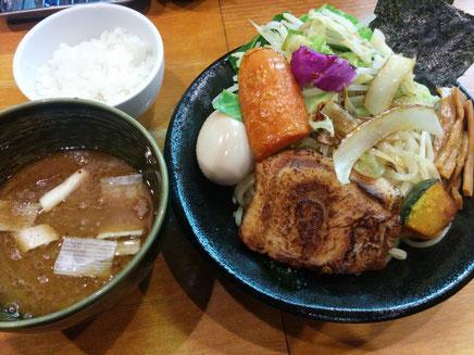 土竜のつけ麺