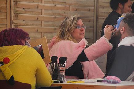 La BD est dans le pré 2017 - atelier maquillage bodypainting
