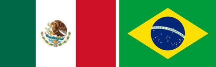 Mexico & Brasil & Arteriograph