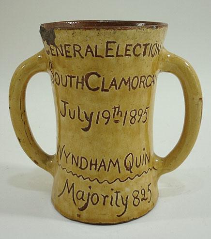Folk art Ewenny Election Jug