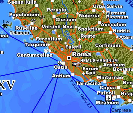 Rome and its hinterland in the new edition