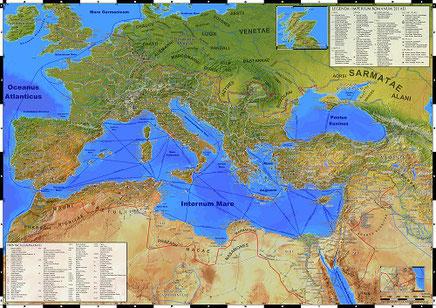Die Welt des alten Roms