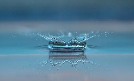Wassertropfen Wasser Gesundheit Fitness