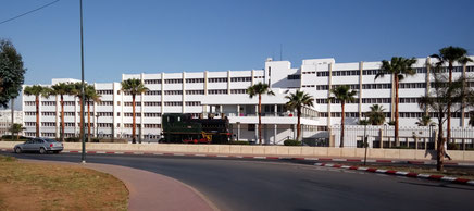 die ONCF Zentrale in Rabat, Marokko   - 2016 -   administration centrale ONCF à Rabat, Maroc
