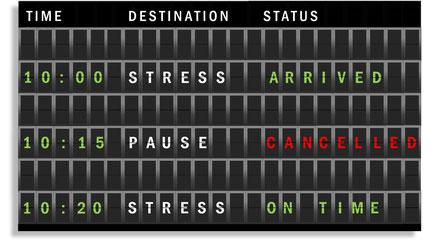 Stress und Entspannung sind ein gesundes Team