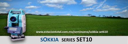 estacion total sokkia set610