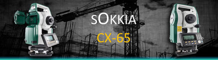 equipo topografico estacion total sokkia cx-65